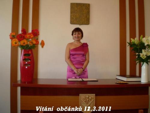 •Vítání občánků 12.3.2011