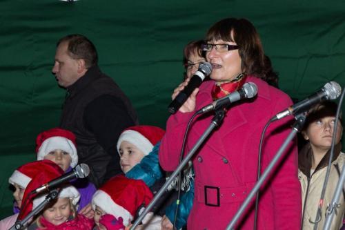 Vánoční svícení 2012