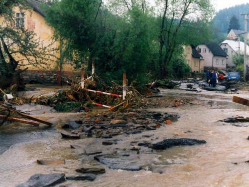Povodně v roce 1996
