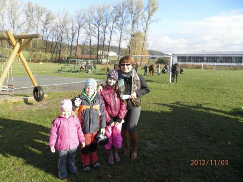 Hubertova jízda 3.11.2012